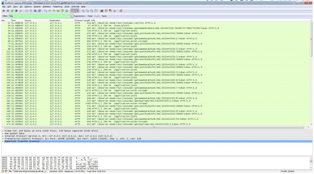tgp助手在本地建立的http ob server